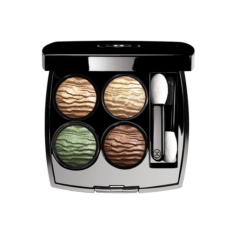Army dreaming | Chanel is inspired by the jungle to create summery soft make-up shades. Dusty healthy glow powders team with eyes enhanced by unusual ochres and browns reflecting the sandy glints and setting suns, on counter now