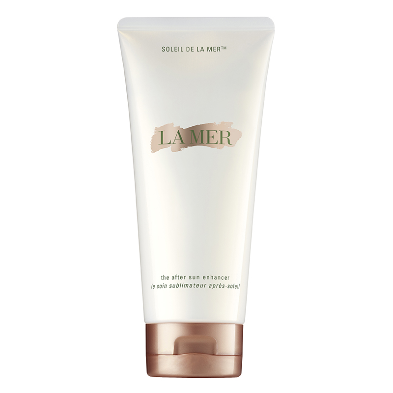Glow getter | Prolong your post-holiday glow this summer with a good-quality tan-extender. La Mer's new Sun Enhancer is a luxurious treat; not only does it keep your colour around longer, it also treats the skin with every application, £85 on counter