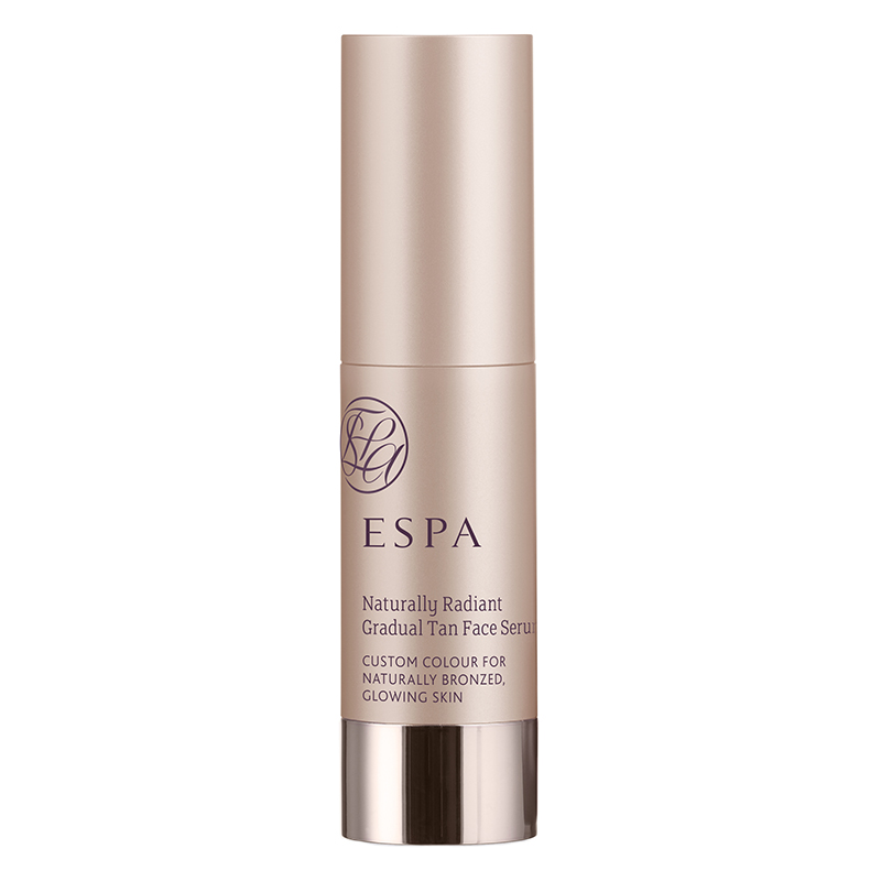 Tan tone | Espa's Naturally Radiant Gradual Face Tan Serum adds just the right amount of colour coverage that can be personalised with the amount used or mixed with a regular moisturiser, on sale at the Spa at Ramside.
