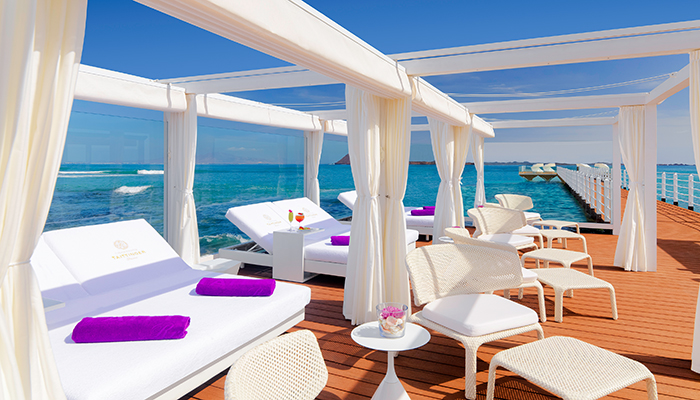 Coco Beach sunbeds