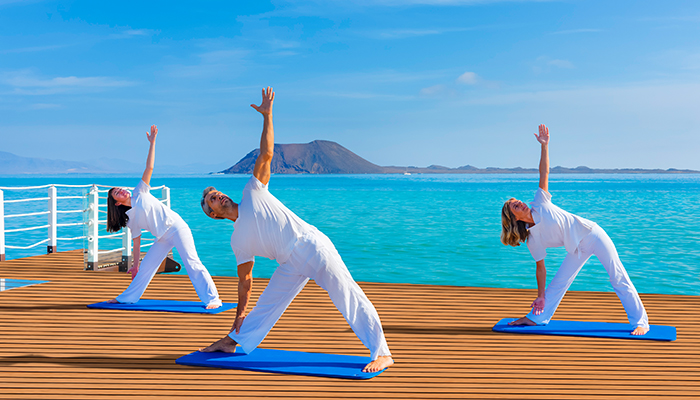 Yoga at Coco Beach