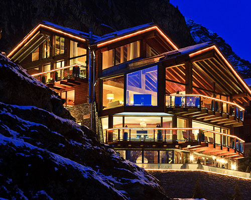ULTIMATE LUXURY CHALETS