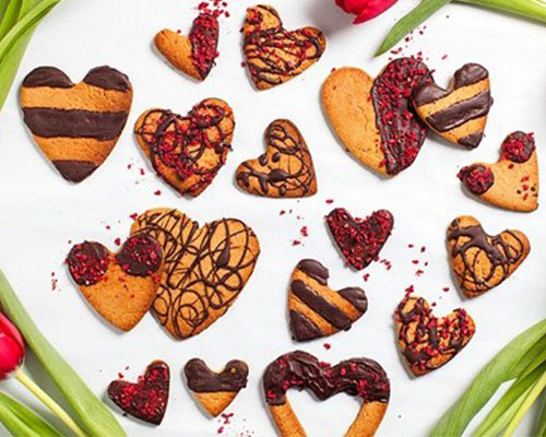 VALENTINE'S RECIPES WE LOVE