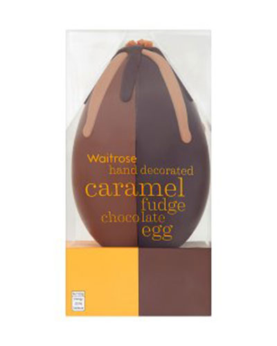 Easter gift guide luxe magazine easter gift waitrose caramel fudge negle Image collections