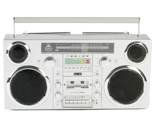 GPO Brooklyn boom box