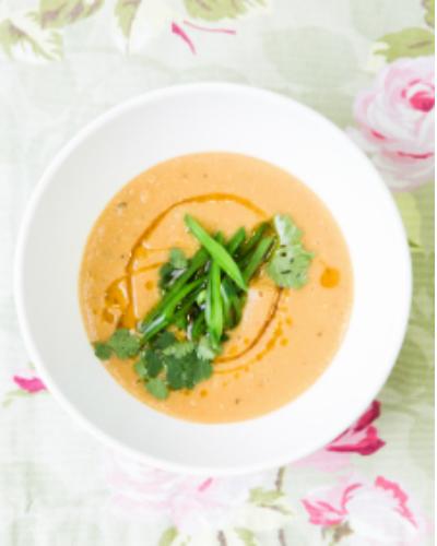 Thai-style lentil soup