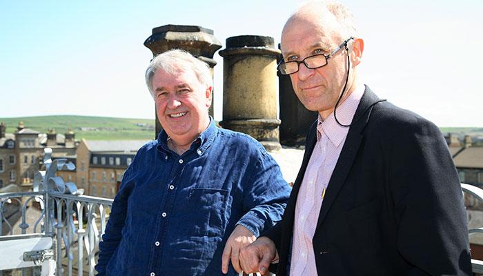 Bryan Goodall and Paul Ingram