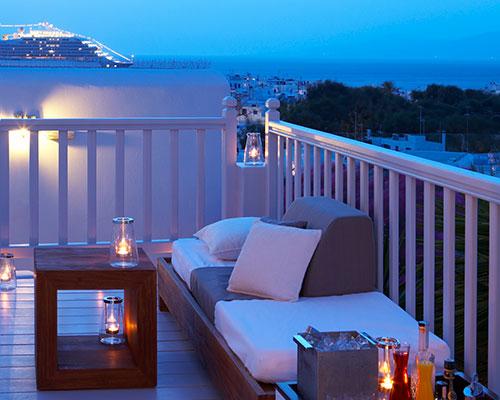 Belvedere Mykonosby Rockwell Belvedere Suite Balcony By Ed Reeve Photography