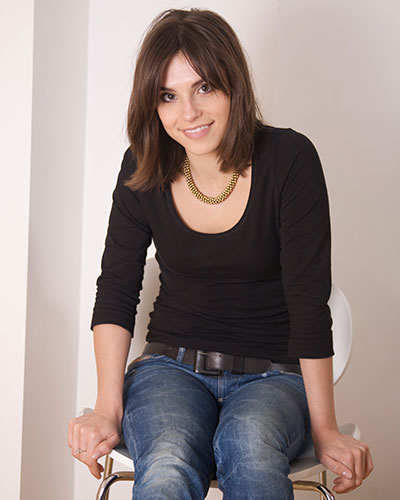 Charlotte Riley sitting