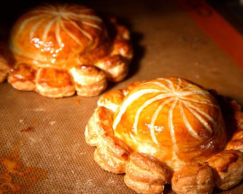 Partridge and foie gras pie