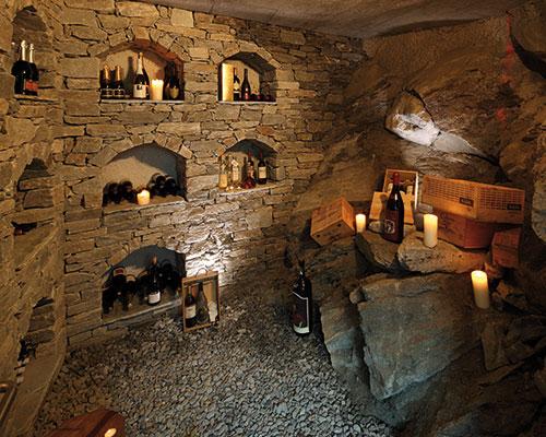 Coeur des Alpes wine cellar