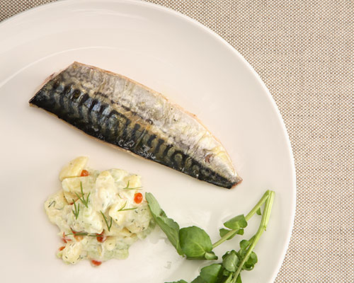 Pan-fried Fillet of Mackerel 2