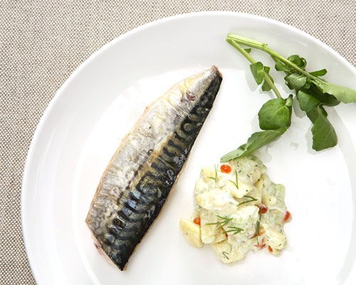 Pan-fried Fillet of Mackerel