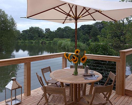 Brompton Lakes terrace