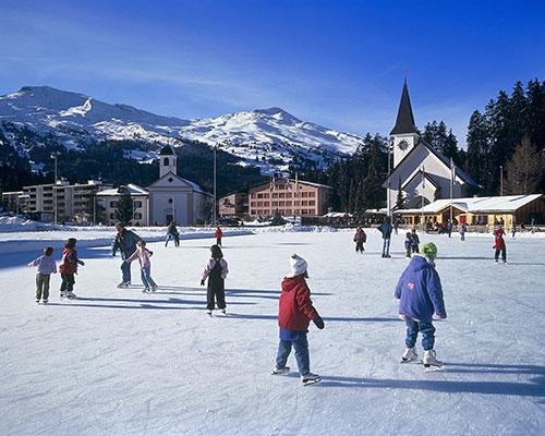 ice rink Lenzerheide