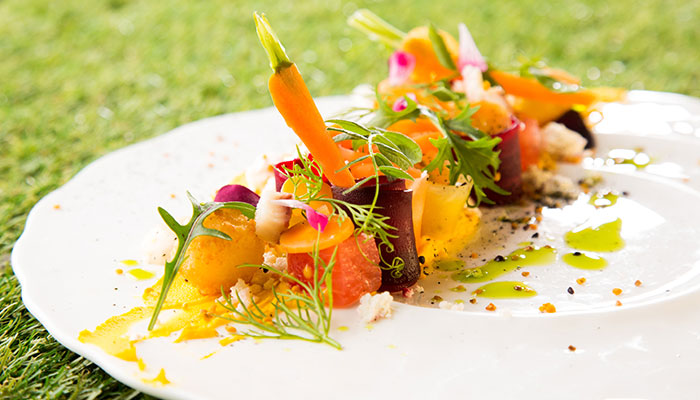 Carrot Melon Feta