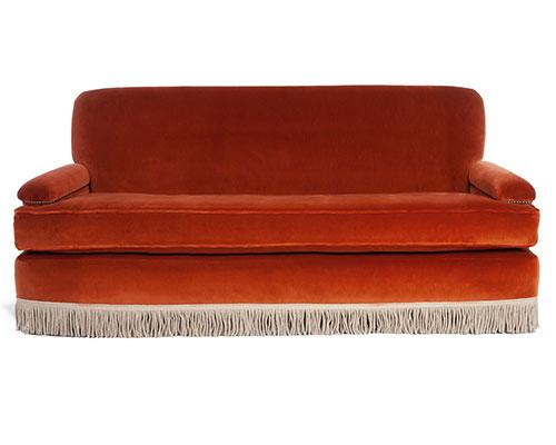 Fringed Rizzo Sofa