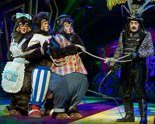 GOLDILOCKS AND THE THREE BEARS, THEATRE ROYAL