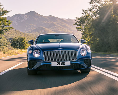 PREMIERSHIP PLAYER: BENTLEY CONTINENTAL GT
