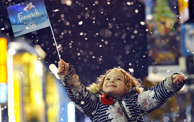 FENWICK CHRISTMAS WINDOW 2018: THE SNOWMAN