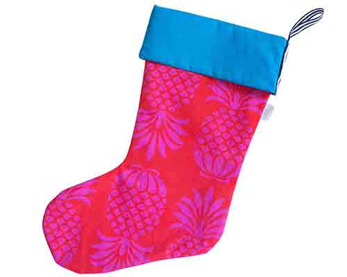 Tropical Christmas Stocking