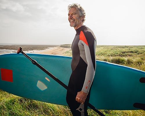 Kevin Doran paddleboard