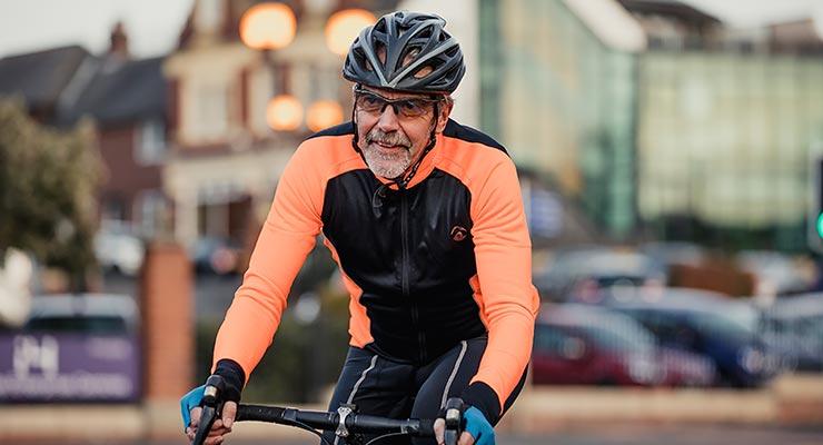 Kevin Doran on bike
