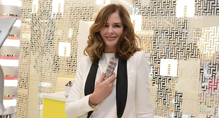 Trinny Woodall at Fenwick London