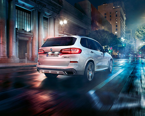 AT THE WHEEL: BMW X5