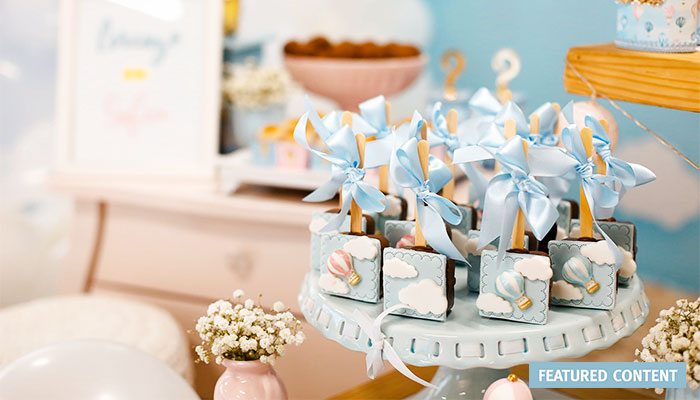HOW TO HOST A LUXE BABY SHOWER