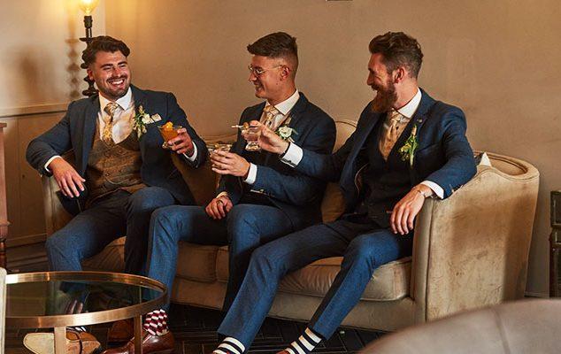 WEDDING STYLE: WELL GROOMED