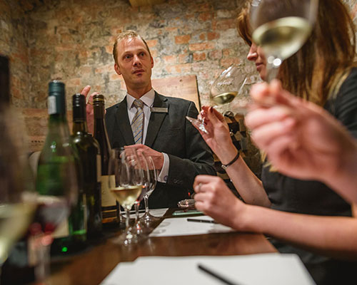 MEET ROCKLIFFE HALL'S WINE MAN