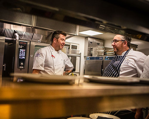 Chefs at Rockliffe Hall's Festival of Food