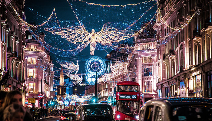 Oxford Street looking Christmassy