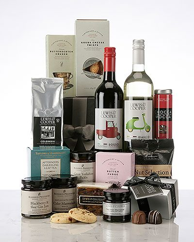 Lewis & Cooper Gourmet Food Selection hamper