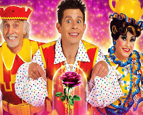 Beauty and the Beast pantomime at Newcastle's Theatre Royal