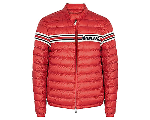 Moncler red coat
