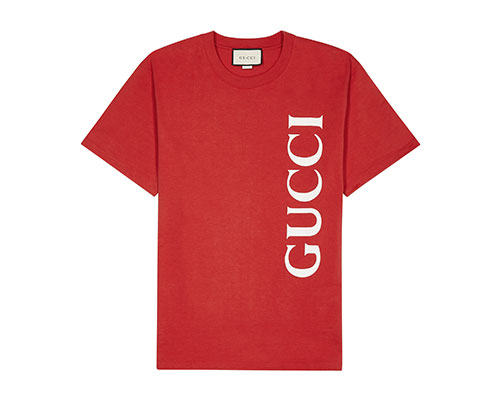 Red Gucci t-shirt