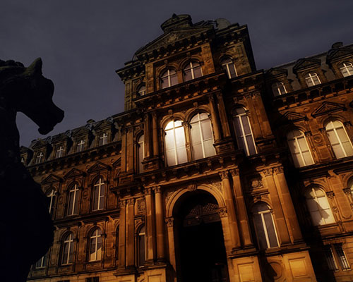Gary Lintern's Night Photography workshop, The Bowes Museum