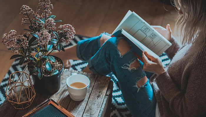 5 Books To Help You Feel Happy At Home