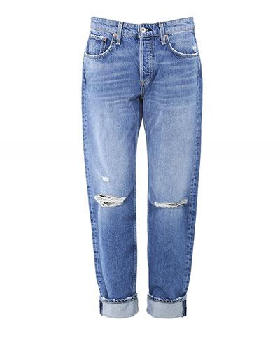 Jules B Rag and Bone Boyfriend Jeans