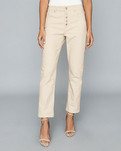 Reiss Mid Rise Straight Jeans