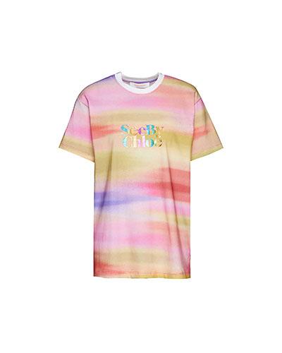 See By Chloé Rainbow T-Shirt