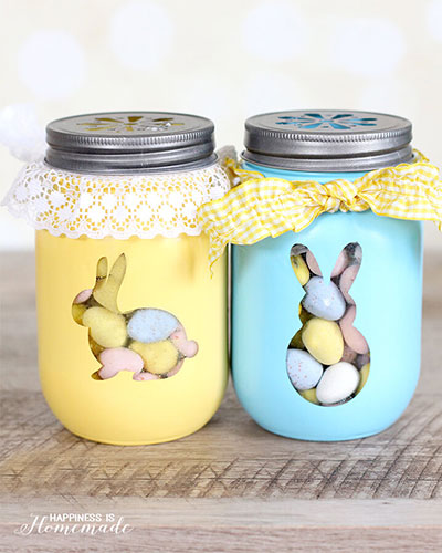 Easter Crafts: Easter-Treat-Jars