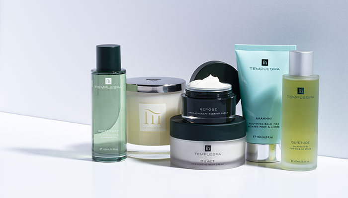 Stay Connected With Seaham Hall - Temple Spa Hero Products