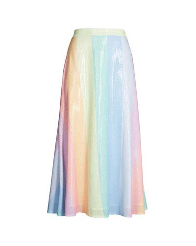 Olivia Rubin Rainbow Skirt