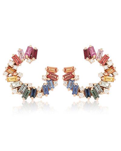Suzanne Kalan Rainbow Earrings