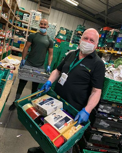 Gainford Group - Newcastle Food Bank Support