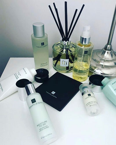 Stay Connected With Seaham Hall - Temple Spa Products