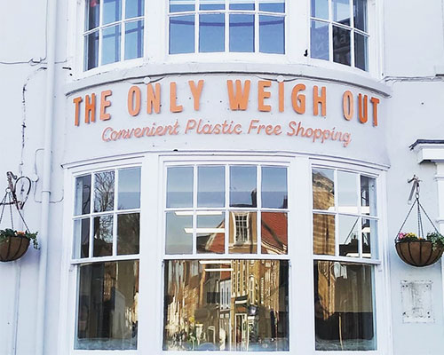 THE ONLY WEIGH OUT: FEEDING THE COMMUNITY